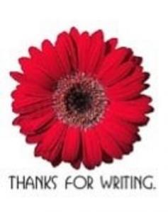 Thanks for writing Award - 04.06.2012